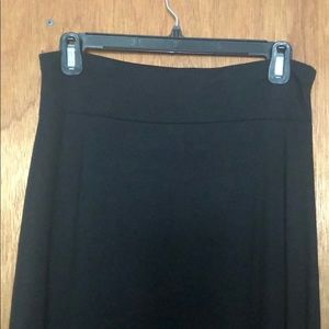 Long black skirt from Gap